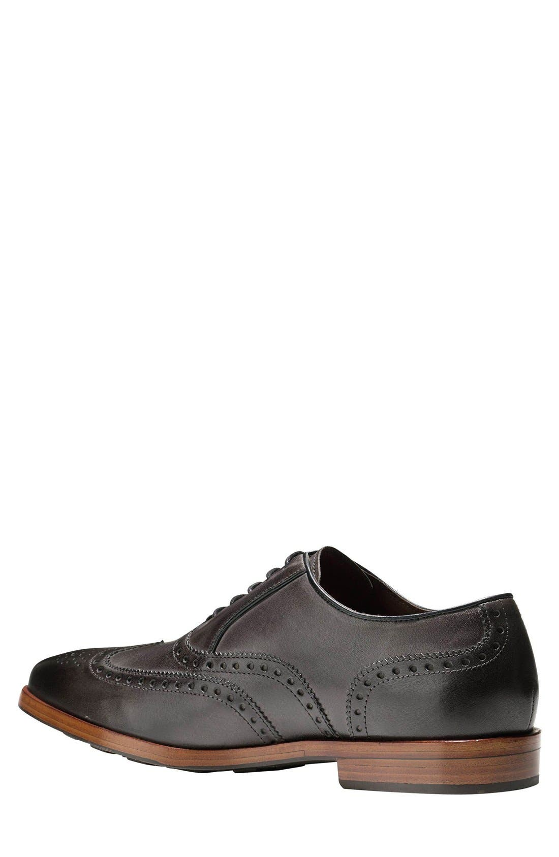 Hamilton Wingtip,                             Alternate thumbnail 2, color,                             Dark Grey