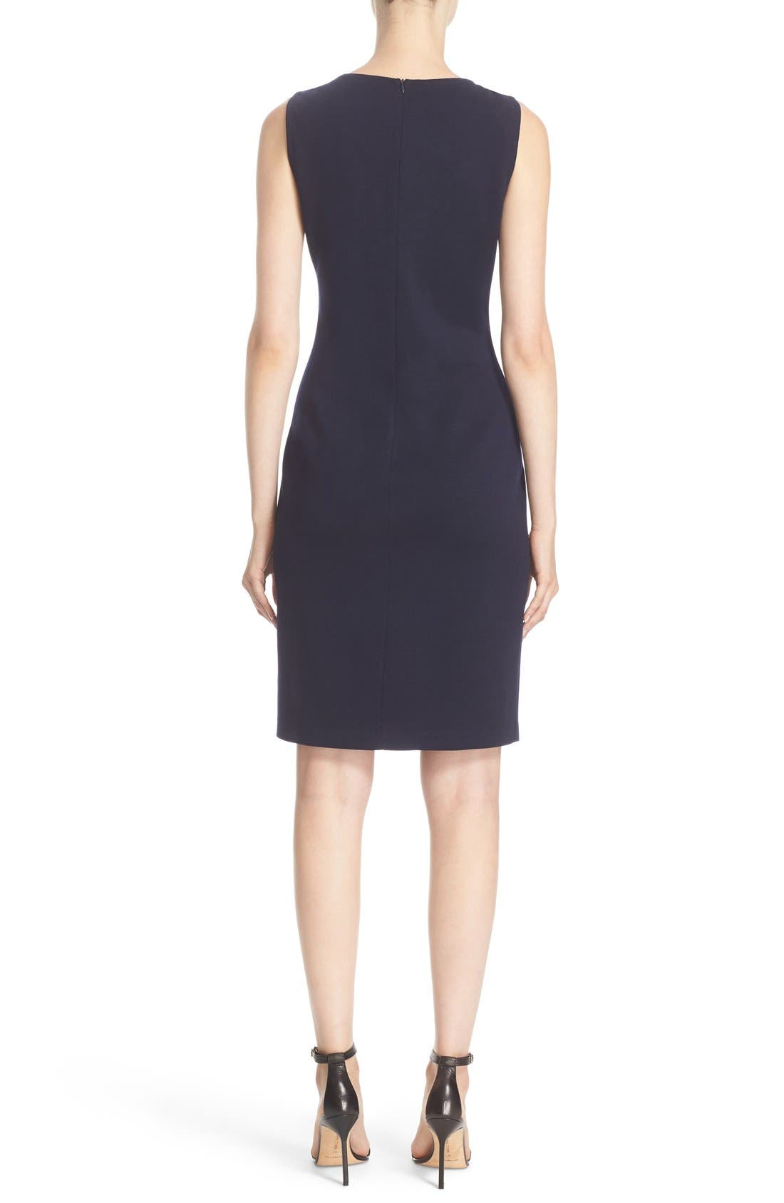 Alternate Image 2  - St. John Collection Milano Knit Sheath Dress