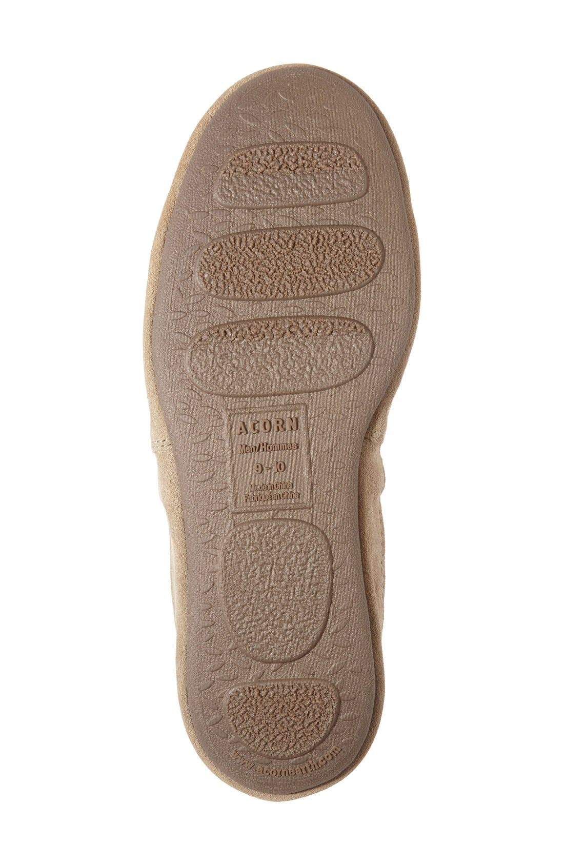 Alternate Image 4  - Acorn Moc Slipper (Men)