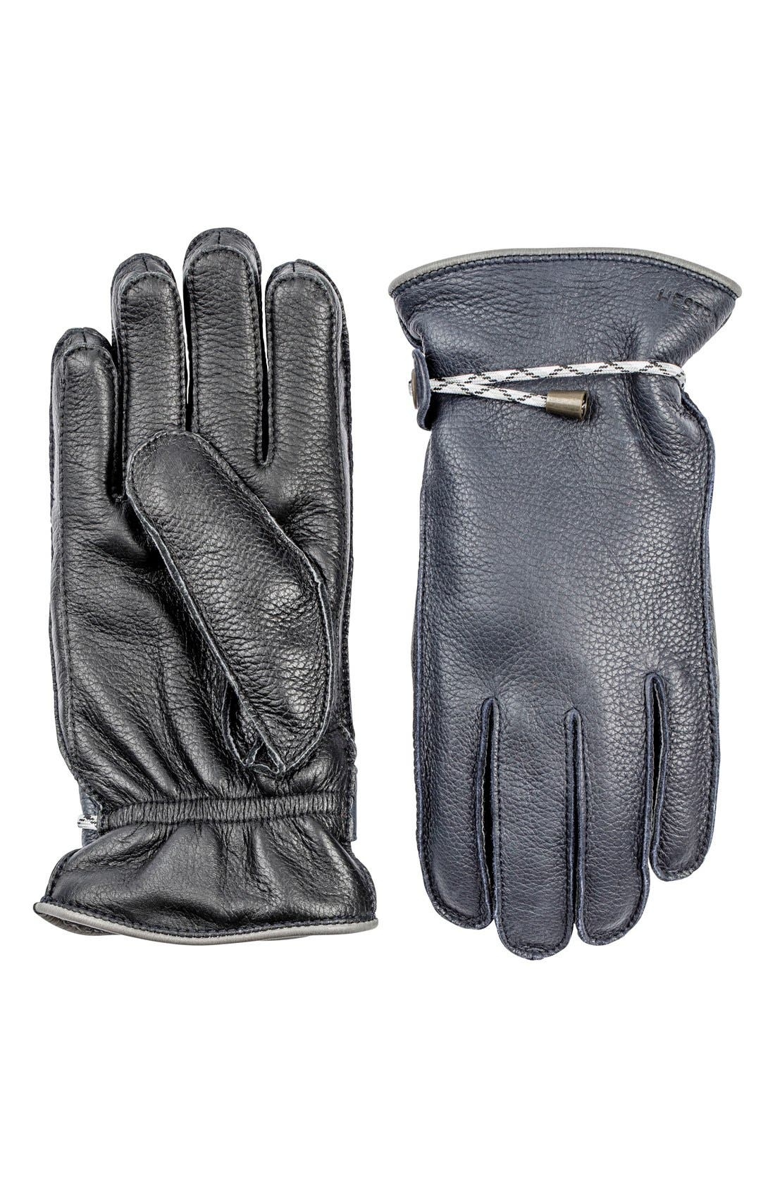 Alternate Image 1 Selected - Hestra 'Granvik' Leather Gloves