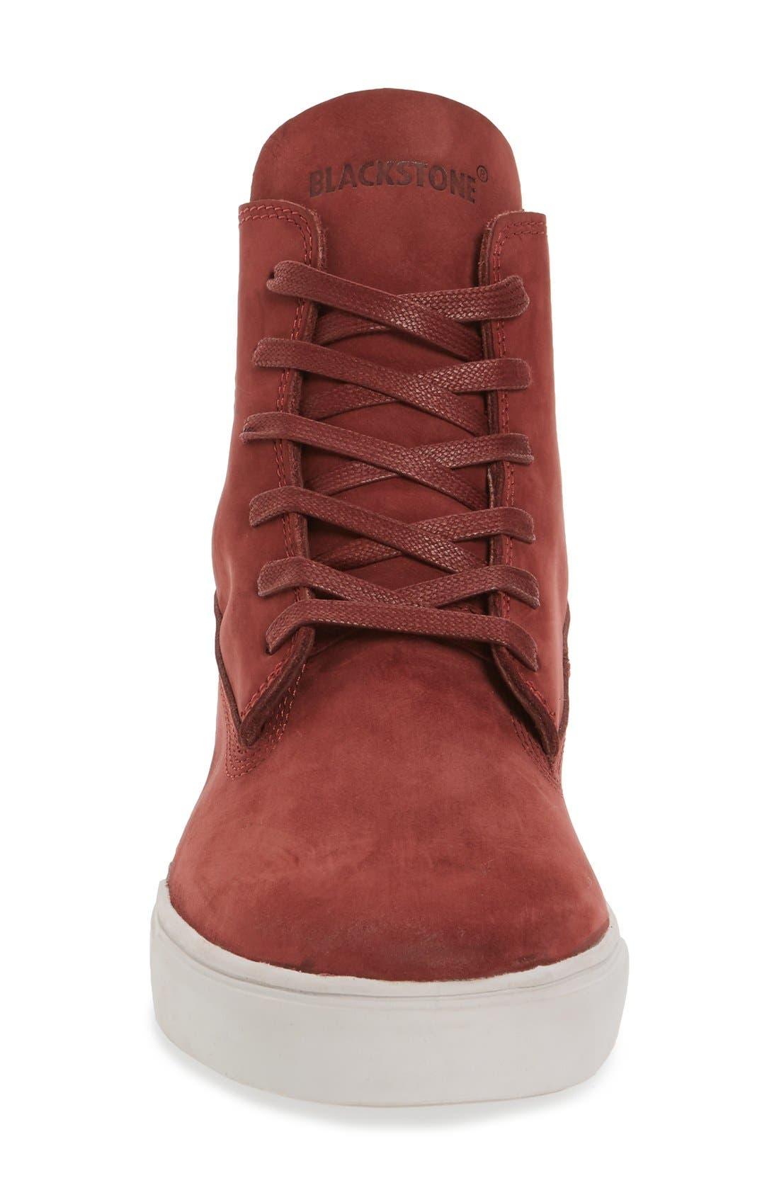 'MM33' High Top Sneaker,                             Alternate thumbnail 3, color,                             Port