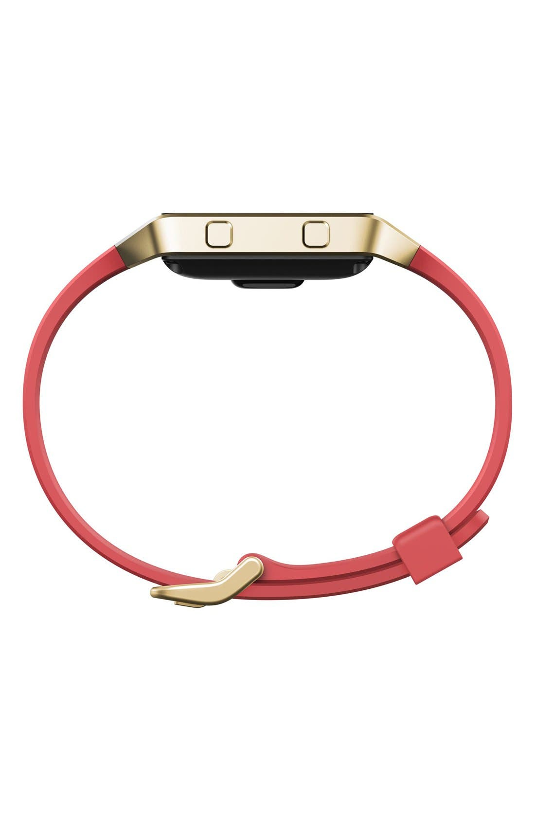'Blaze' Slim Accessory Band & Frame,                             Alternate thumbnail 4, color,                             Pink