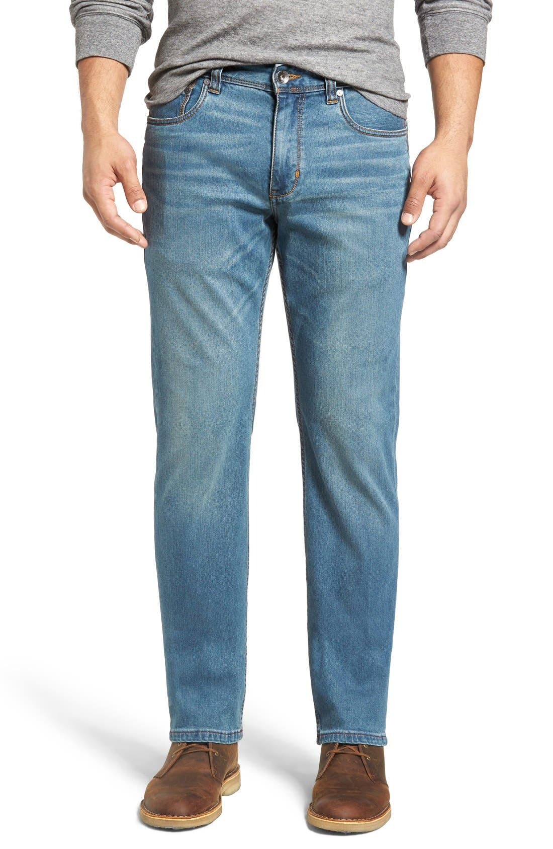 Sand Drifter Straight Leg Jeans,                         Main,                         color, Vintage Wash