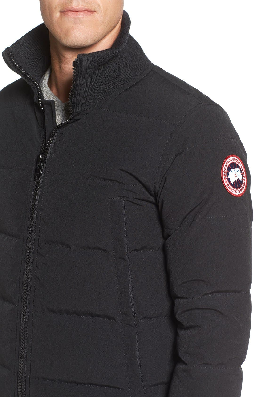 Alternate Image 4  - Canada Goose 'Woolford' Down Bomber Jacket