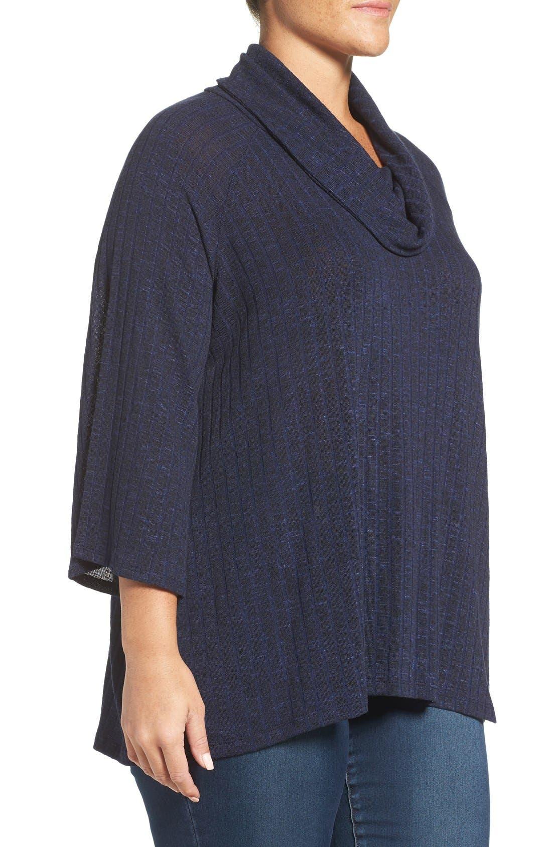 Alternate Image 3  - Sejour Cowl Neck Top (Plus Size)