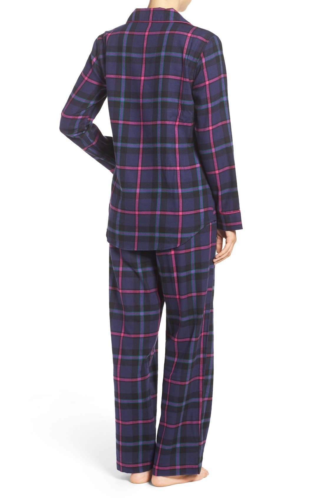 Alternate Image 3  - Lauren Ralph Lauren Twill Pajamas
