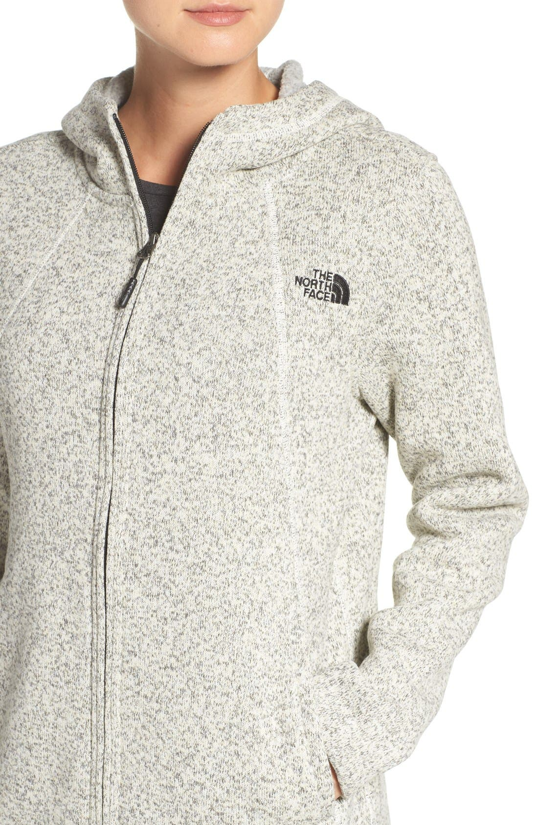 Alternate Image 4  - The North Face 'Crescent' Fleece Jacket