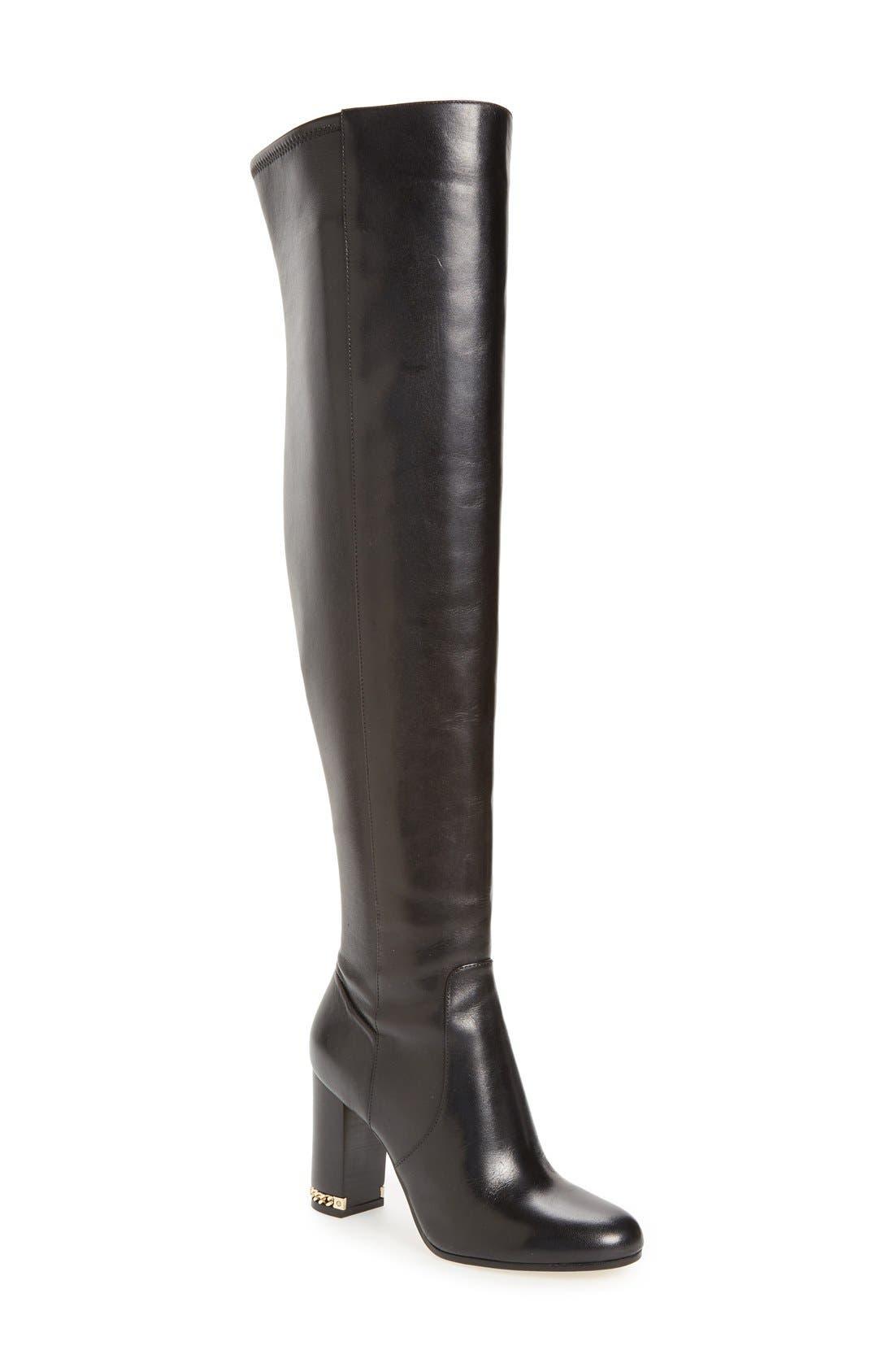 Main Image - MICHAEL Michael Kors Sabrina Over the Knee Boot (Women)