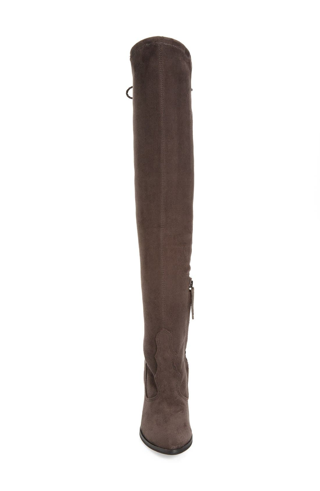 Alternate Image 3  - Dolce Vita 'Chance' Over the Knee Stretch Boot (Women) (Narrow Calf)