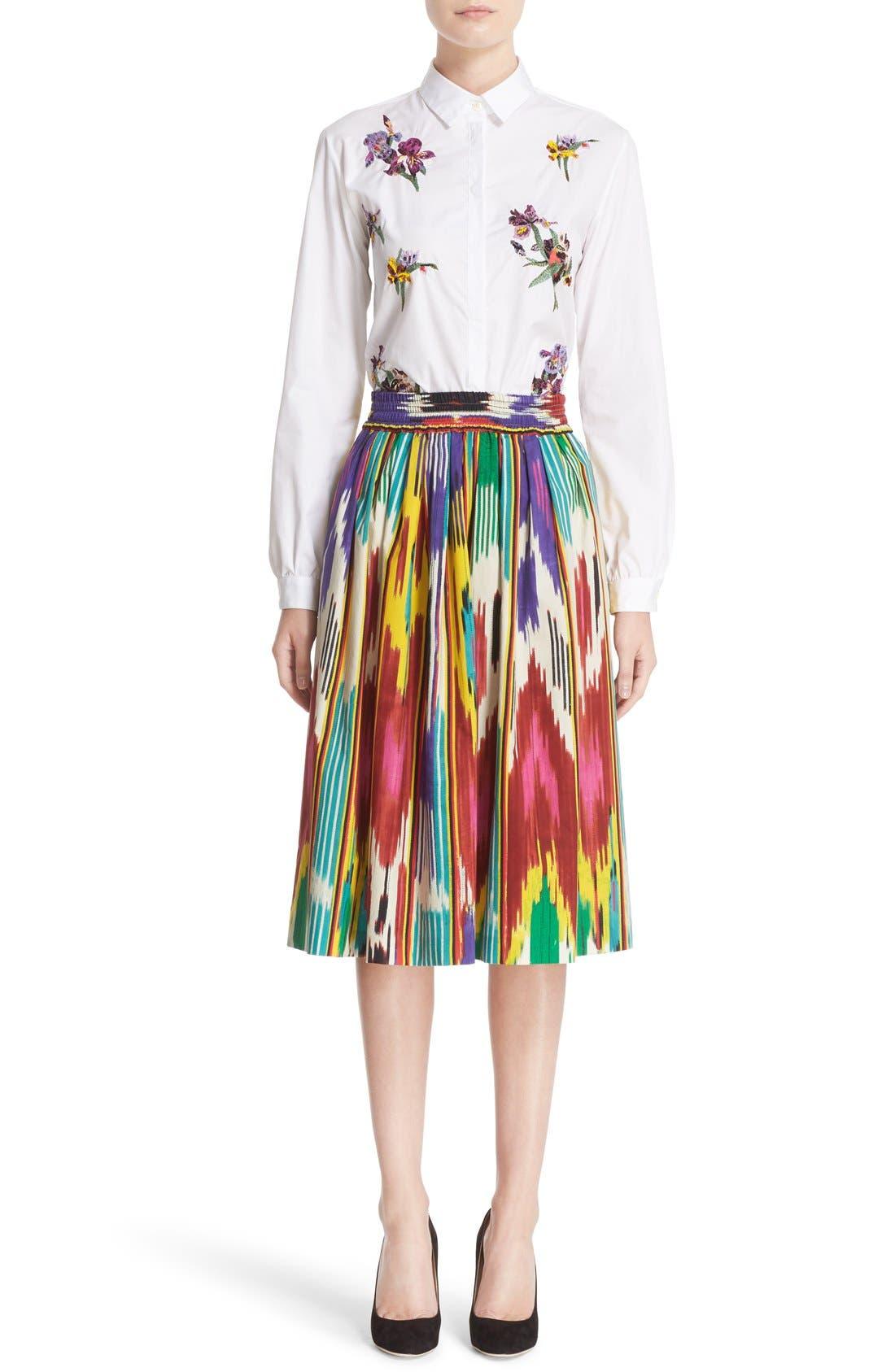 Alternate Image 7  - Etro Ikat Print Skirt