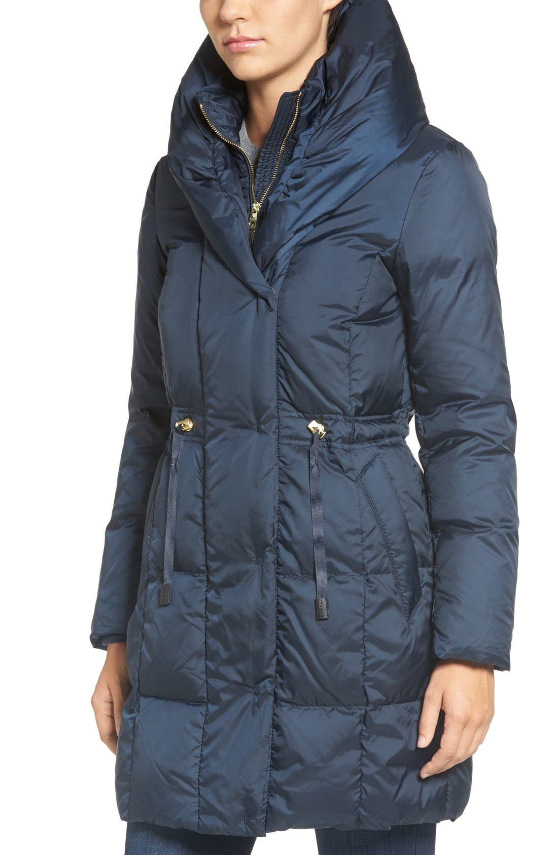 Alternate Image 4  - Cole Haan Shawl Collar Down Coat
