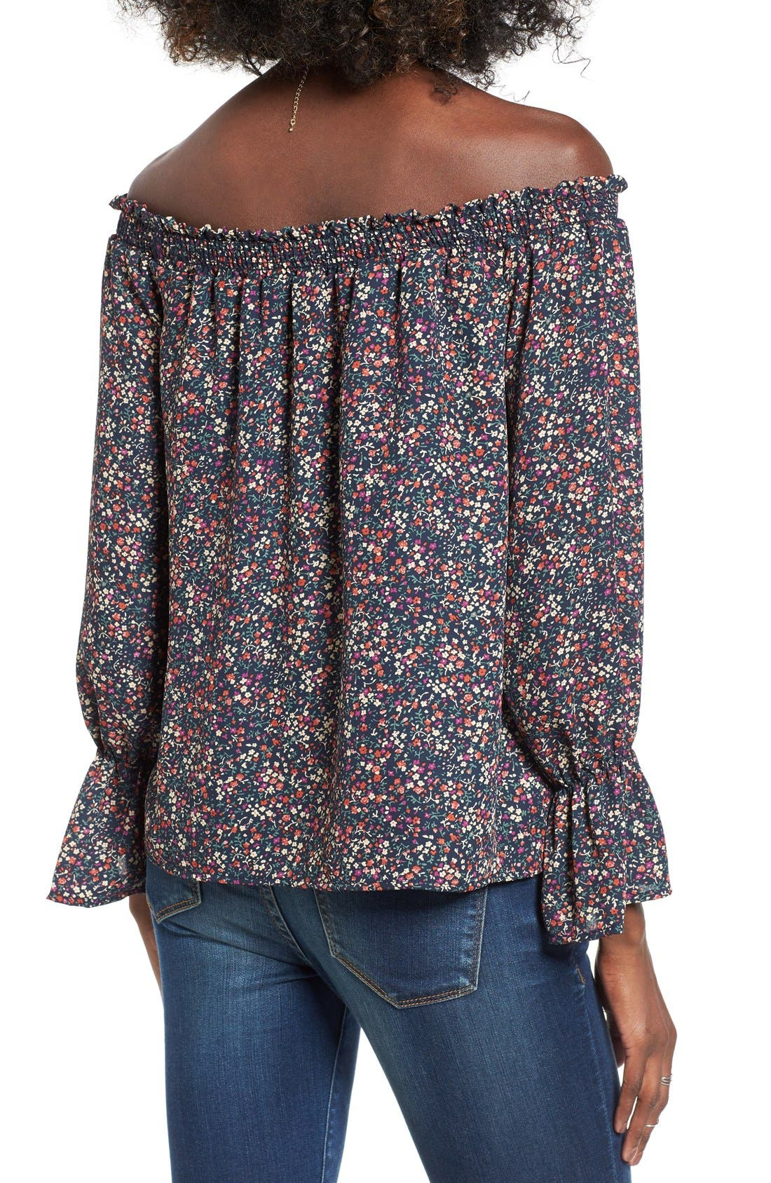 Alternate Image 2  - WAYF Off the Shoulder Blouse