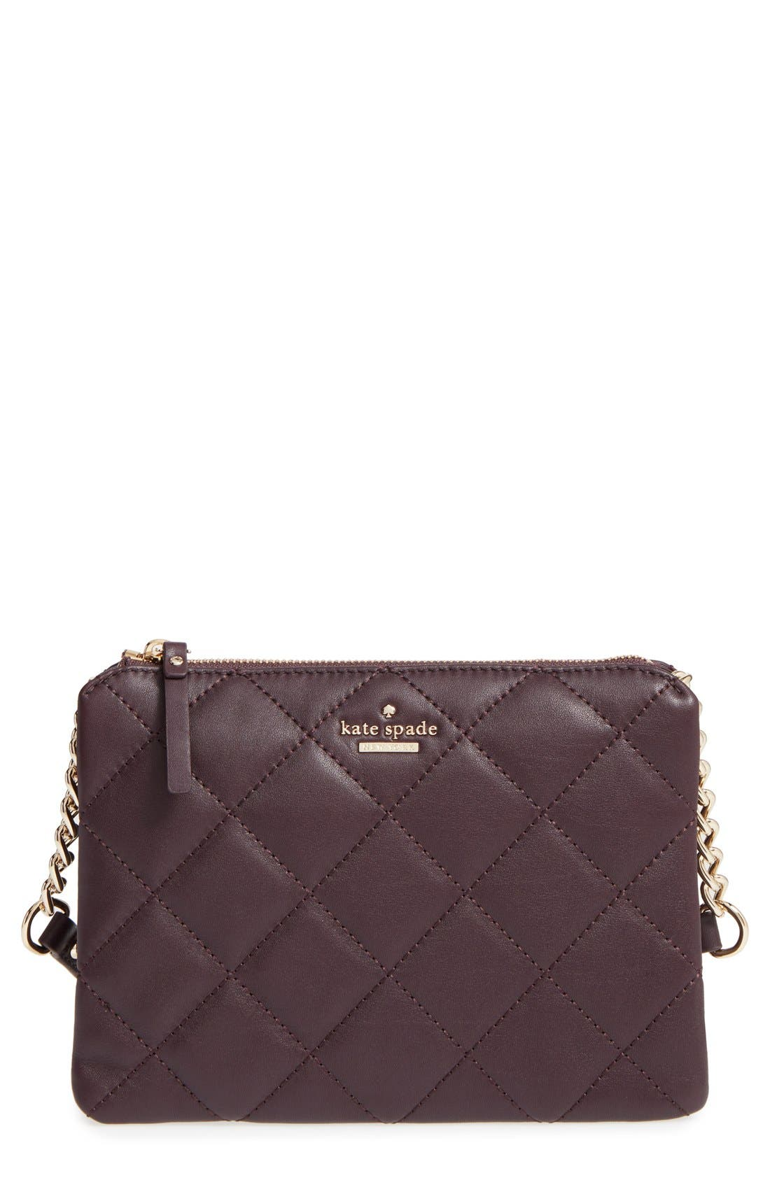 Alternate Image 1 Selected - kate spade new york emerson place harbor leather crossbody bag