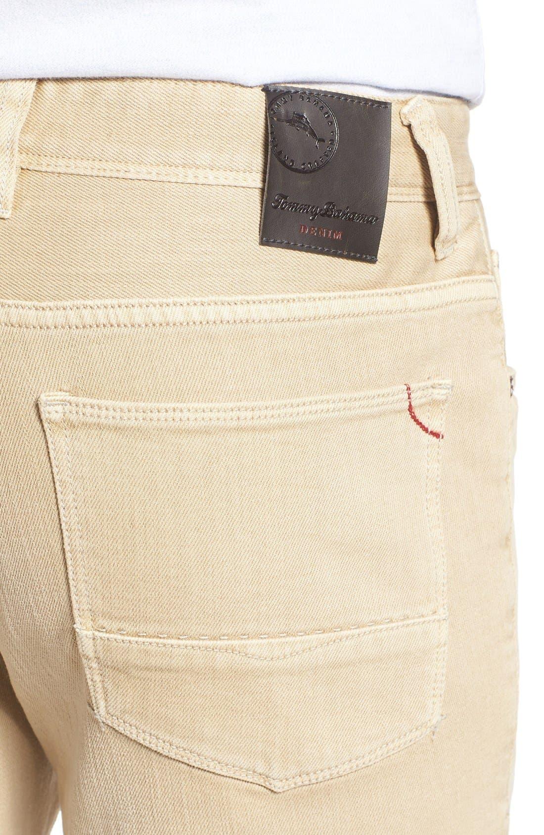 Alternate Image 4  - Tommy Bahama Weft Side Keys Pants