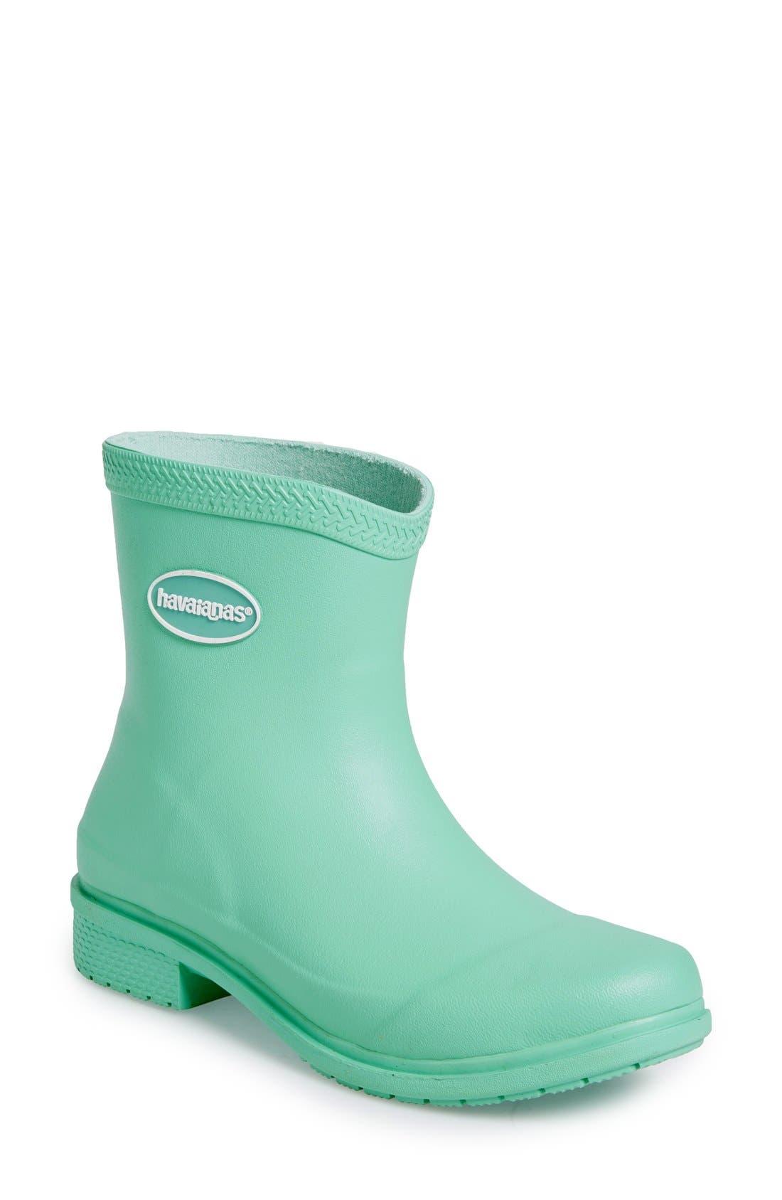 Main Image - Havaianas 'Galochas Low Matte' Waterproof Rain Boot (Women)