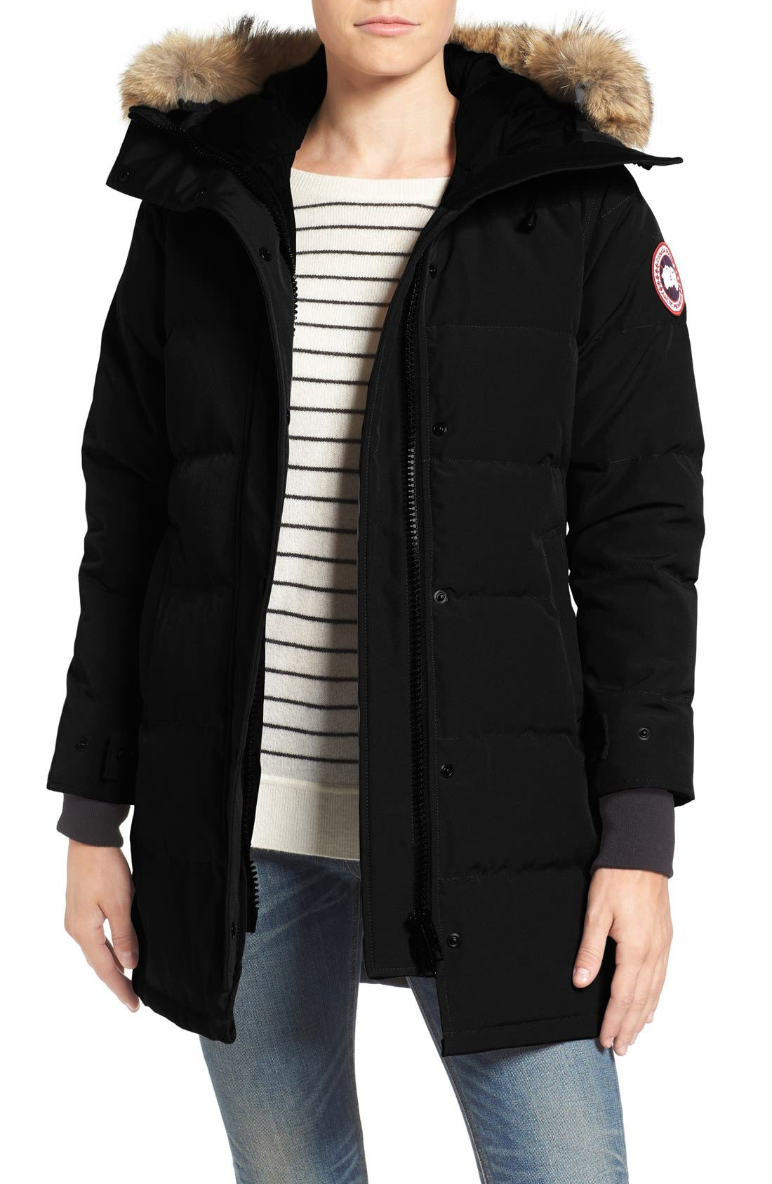 canada goose fur and down