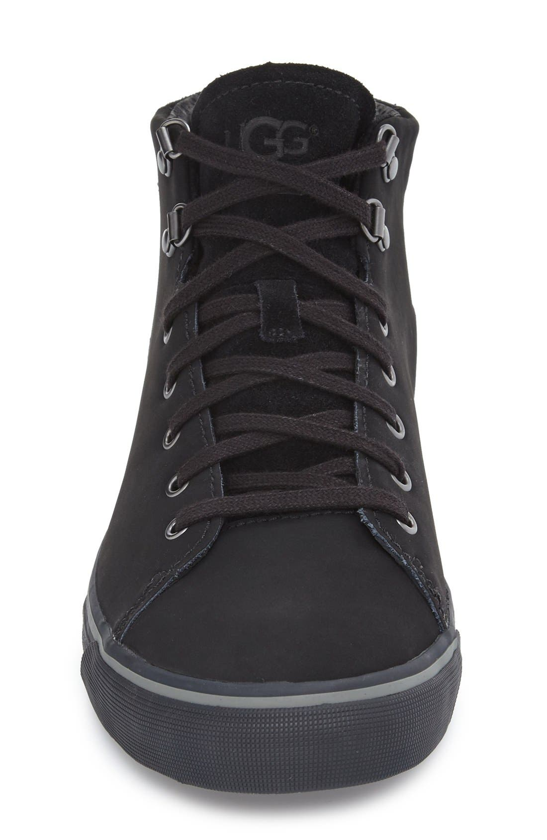 Alternate Image 3  - UGG® 'Hoyt' Waterproof High Top Sneaker (Men)