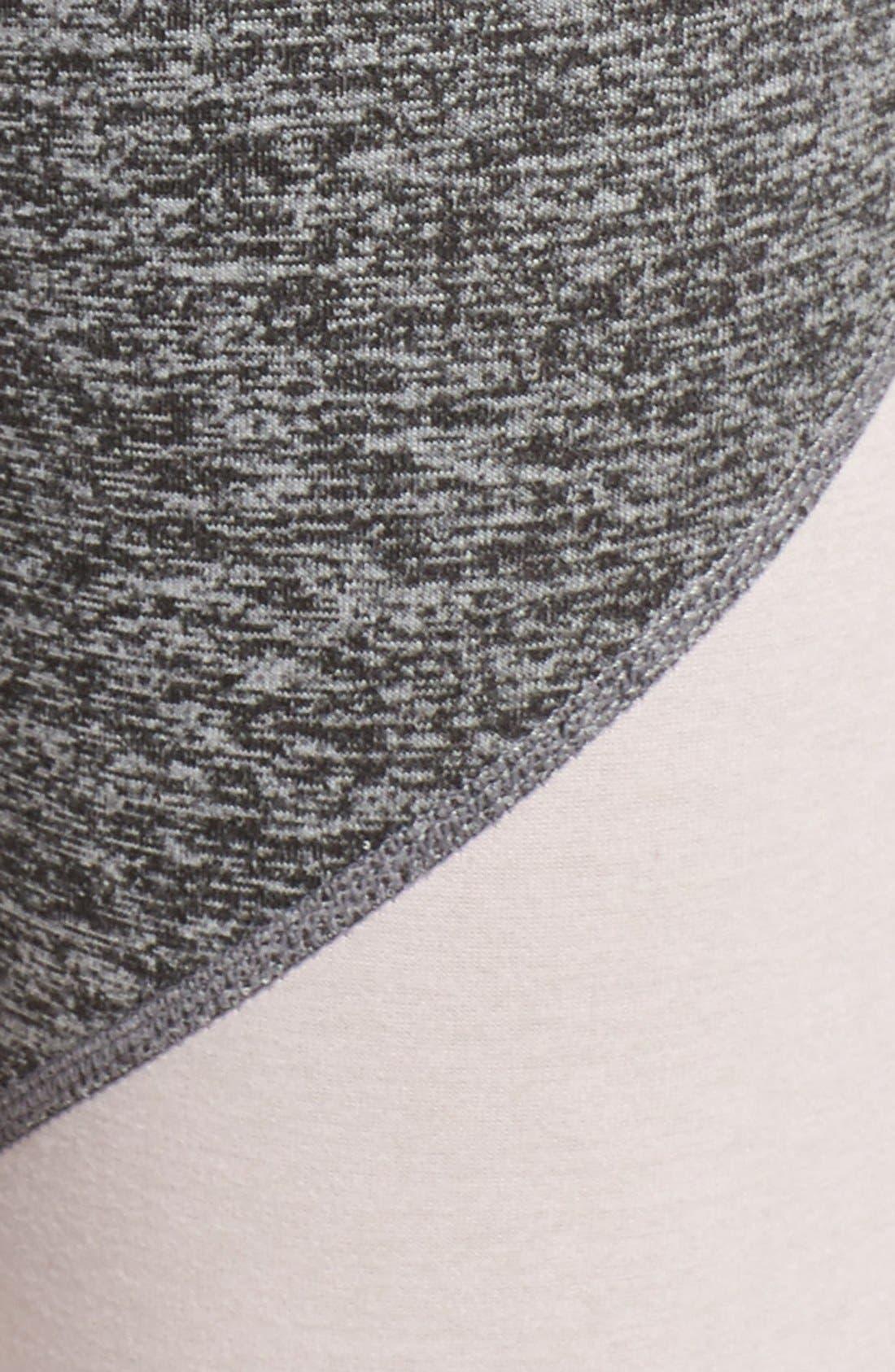 Alternate Image 5  - Free People 'Intuition' High Waist Colorblock Leggings