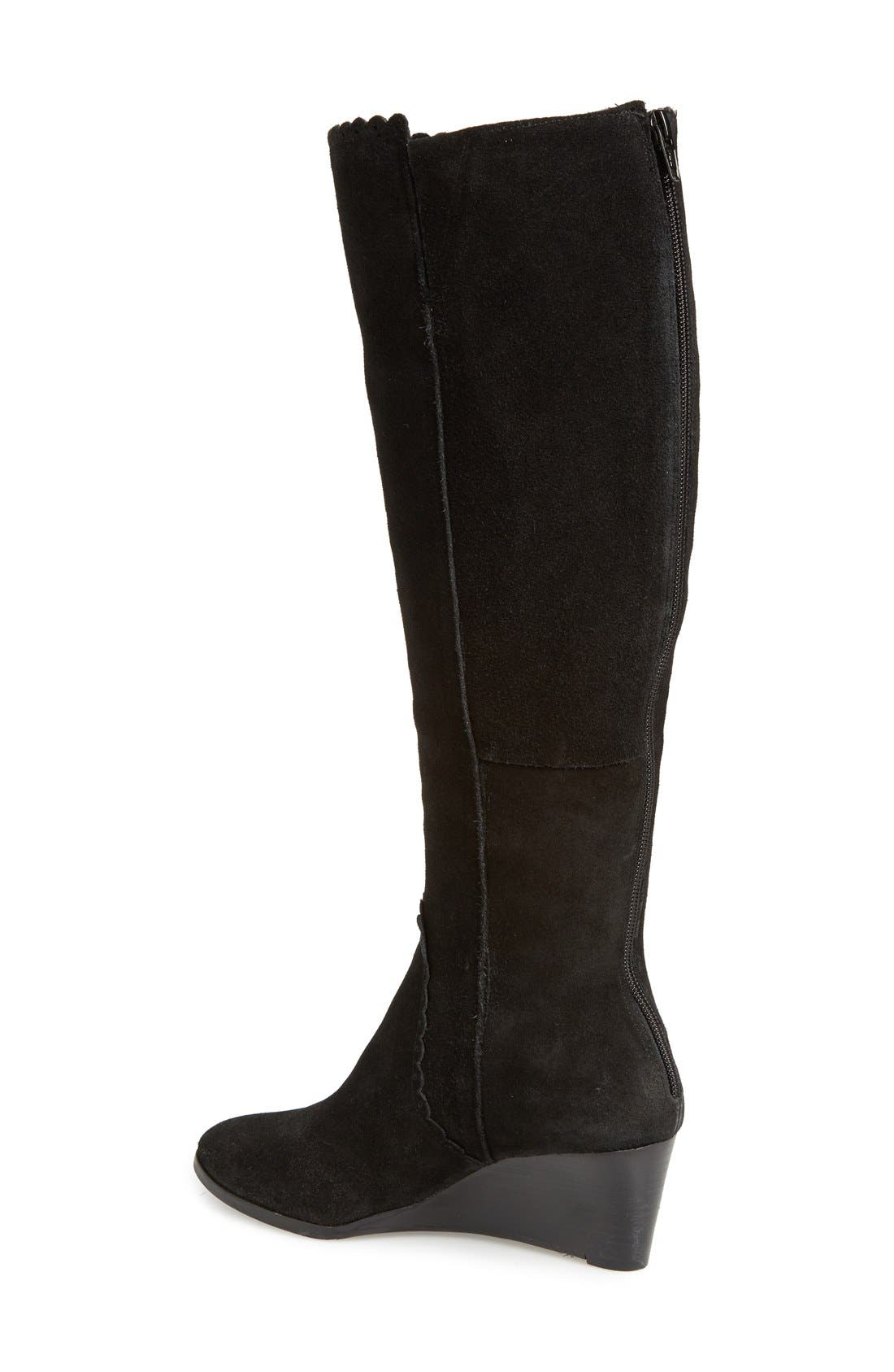 Alternate Image 2  - Jack Rogers 'Mia' Knee High Wedge Boot (Women)