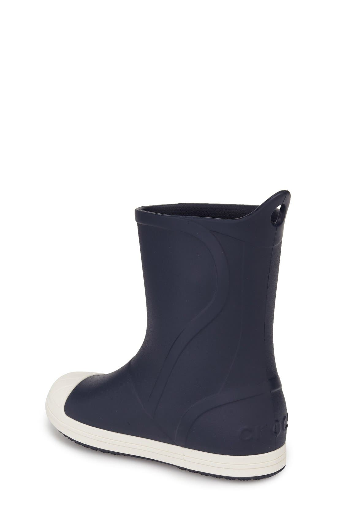 Alternate Image 2  - CROCS™ Bump It Waterproof Rain Boot (Walker, Toddler & Little Kid)