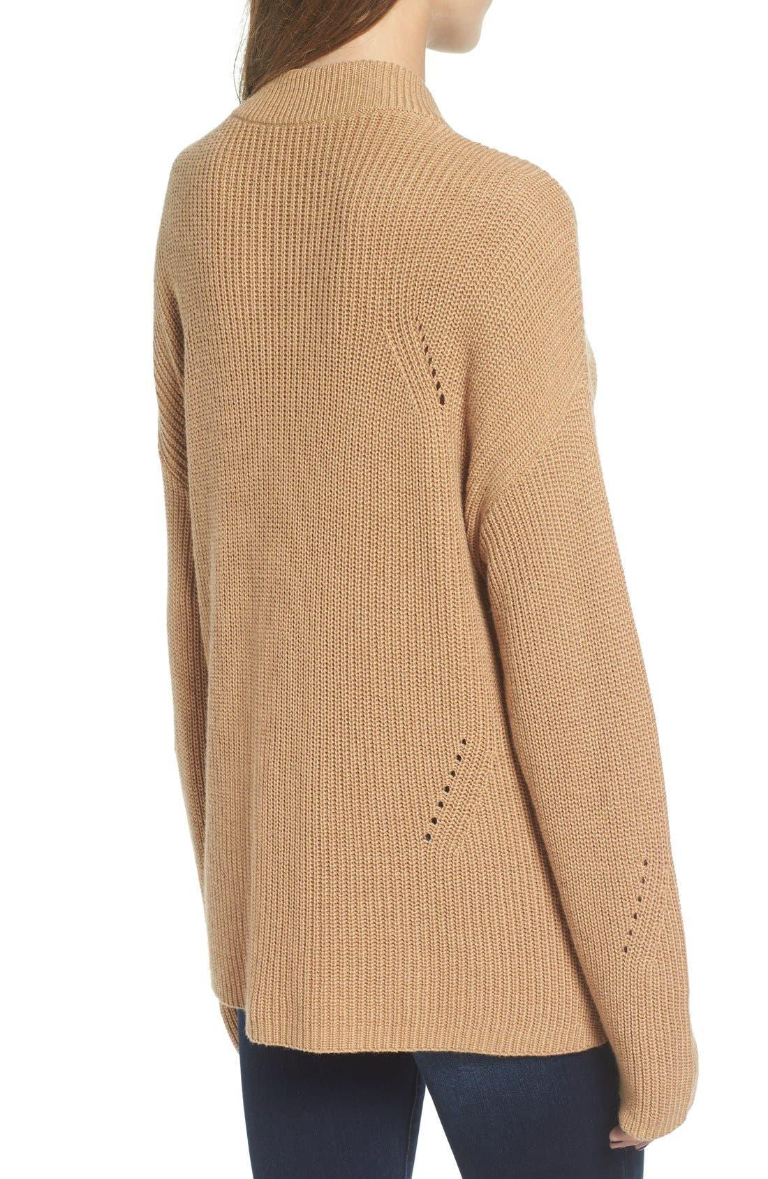 Alternate Image 2  - BP. Side Buckle Knit Pullover