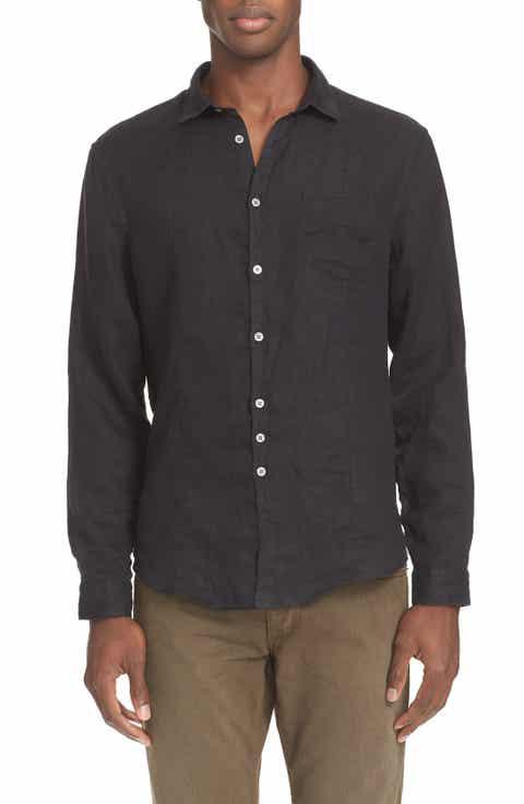 Shirts for Men, Men's Black Linen Shirts | Nordstrom
