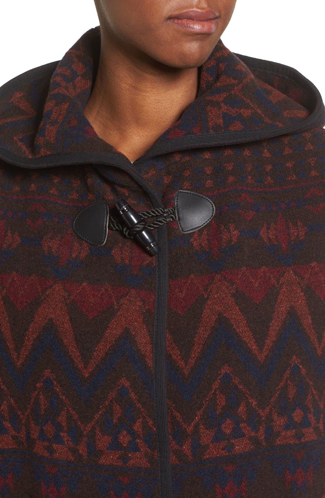 Alternate Image 4  - kensie Teddy Duffle Coat