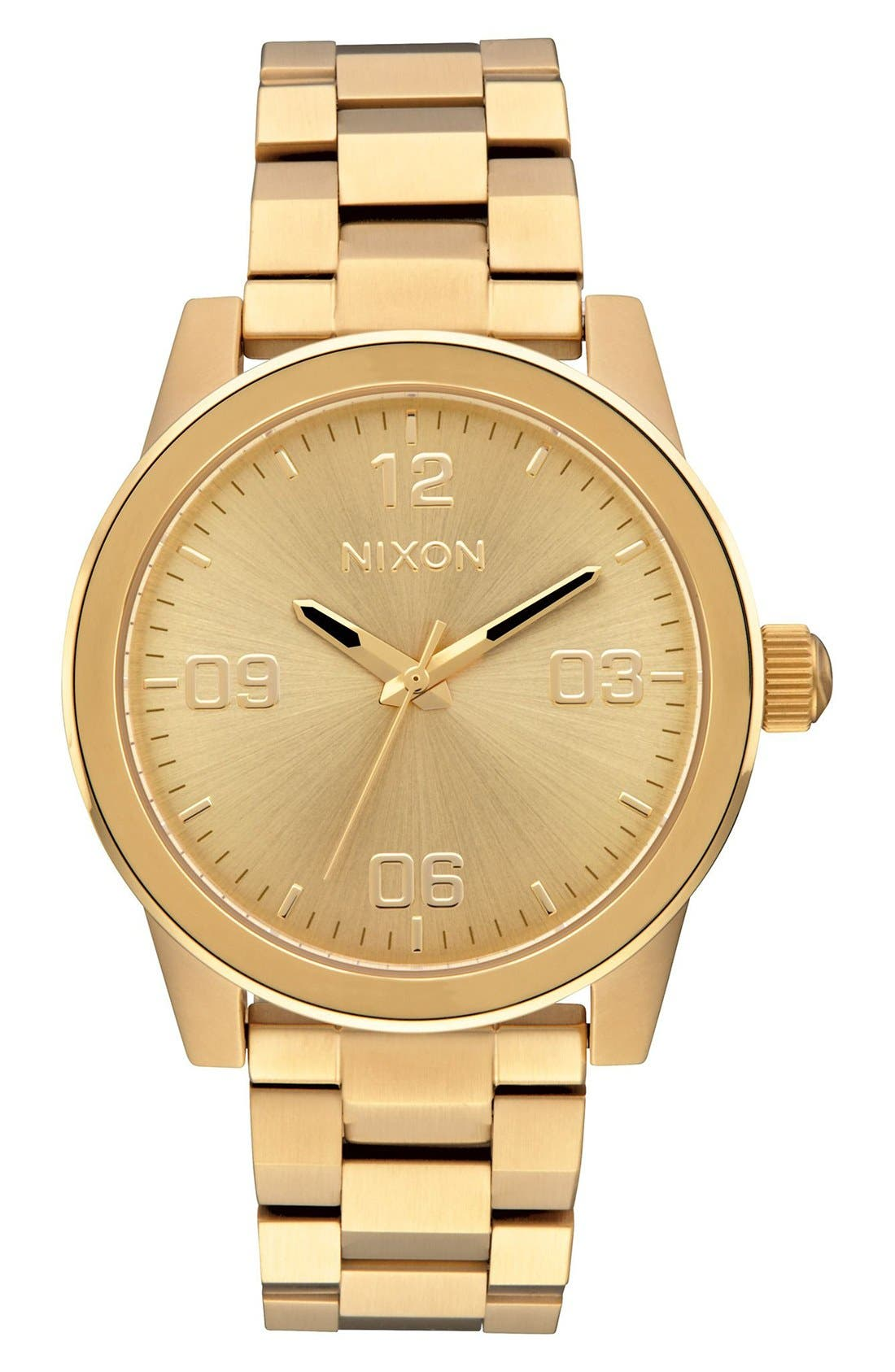 Nixon G.I. Bracelet Watch, 36mm