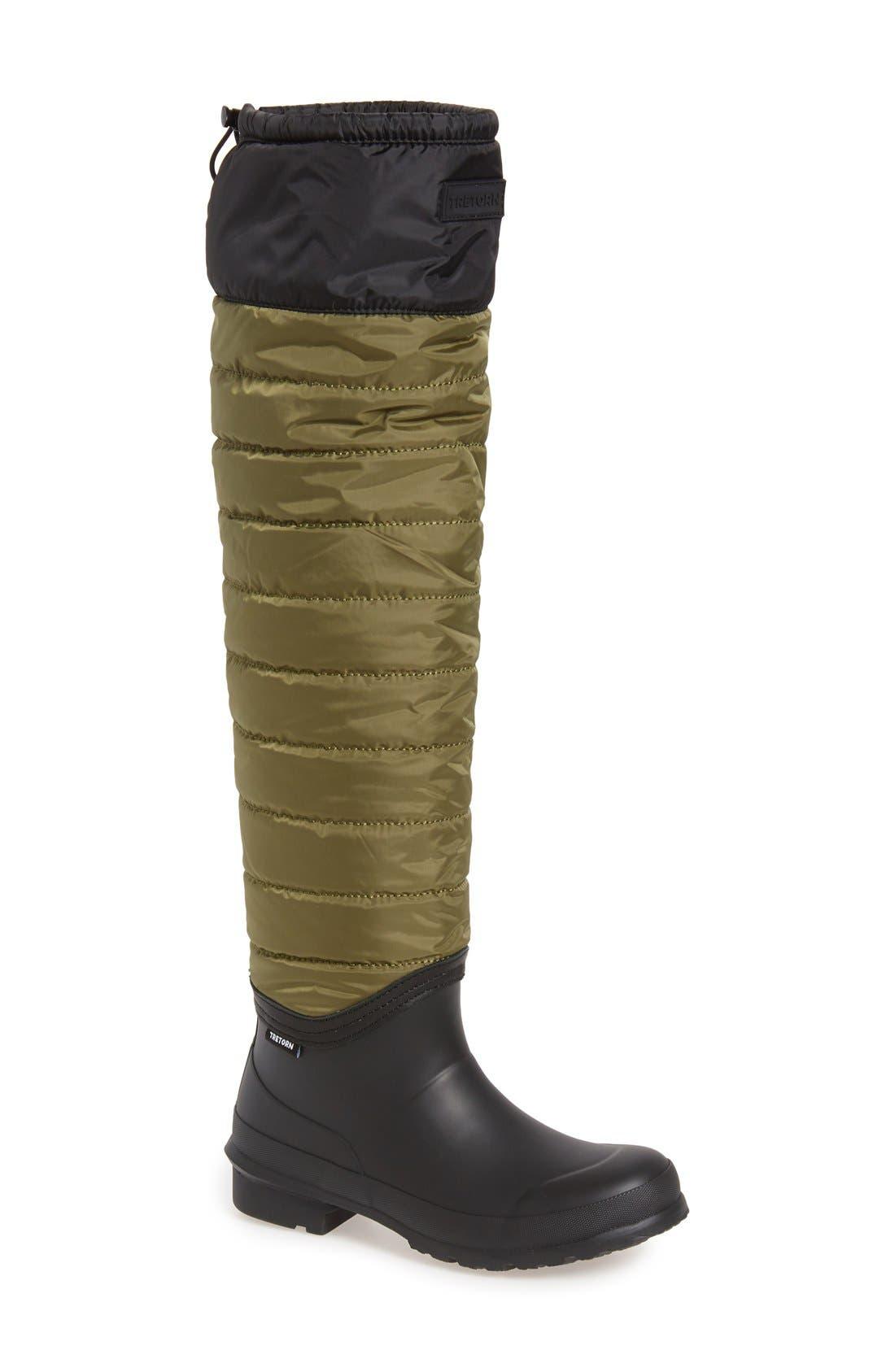 Tretorn Harriet Over The Knee Boots Women