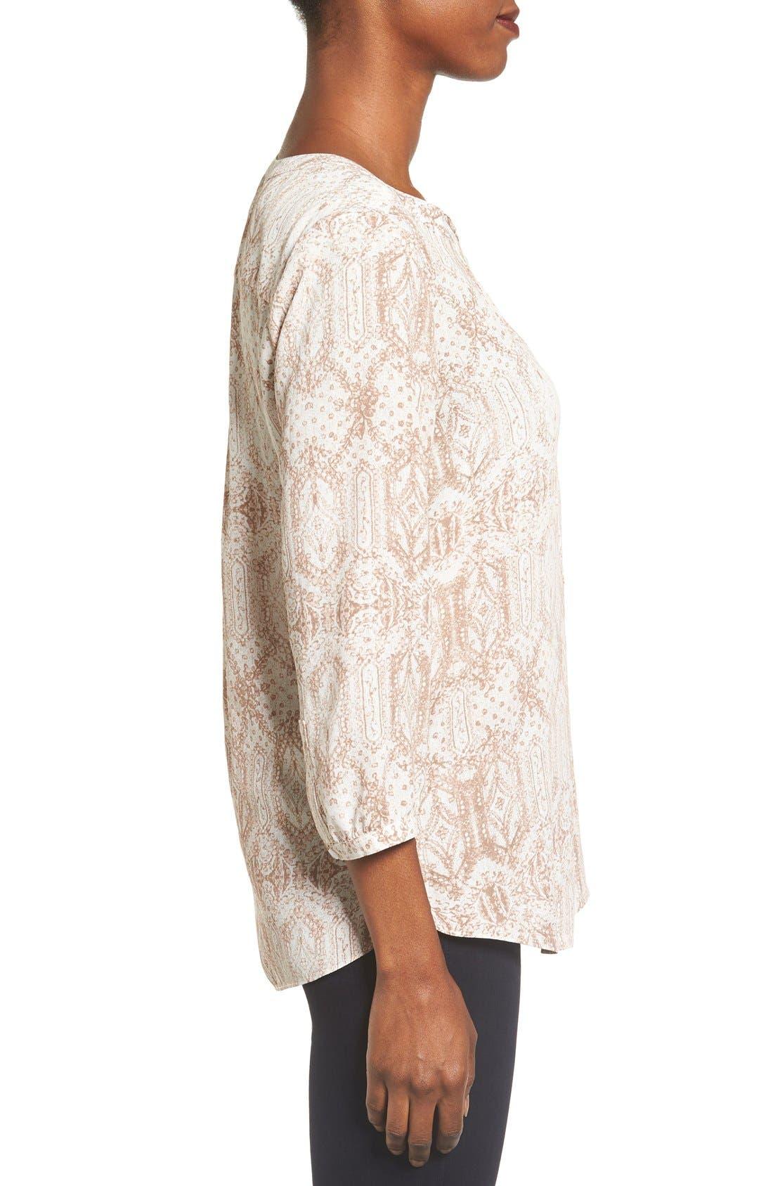 Alternate Image 3  - NYDJ Henley Blouse (Regular & Petite)
