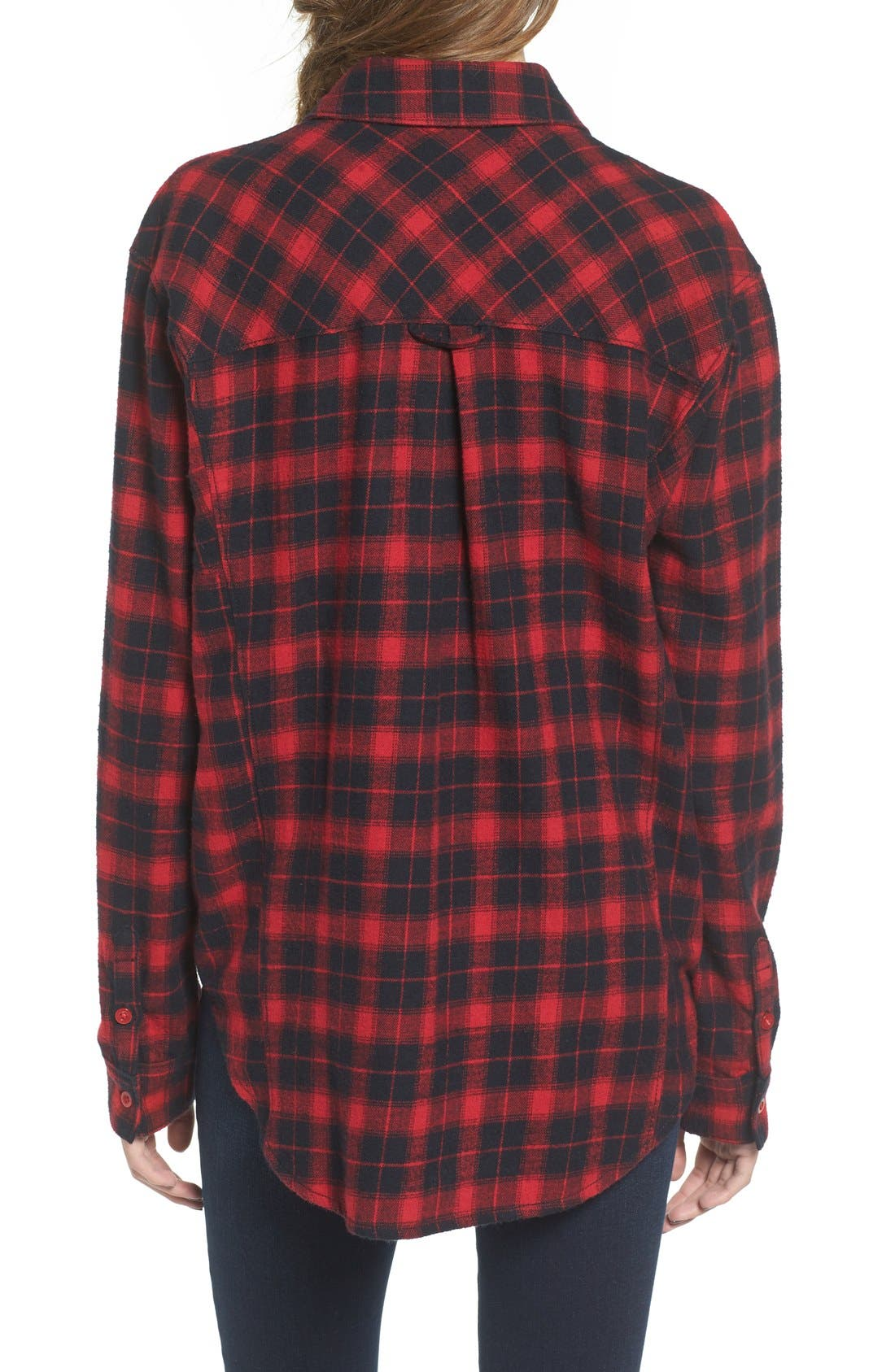 Alternate Image 2  - BP. Plaid Flannel Shirt