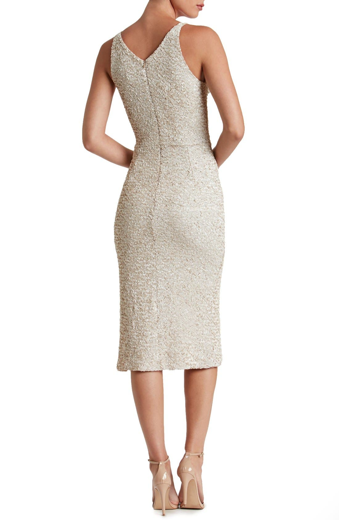 Alternate Image 2  - Dress the Population Camilla Sequin Dress