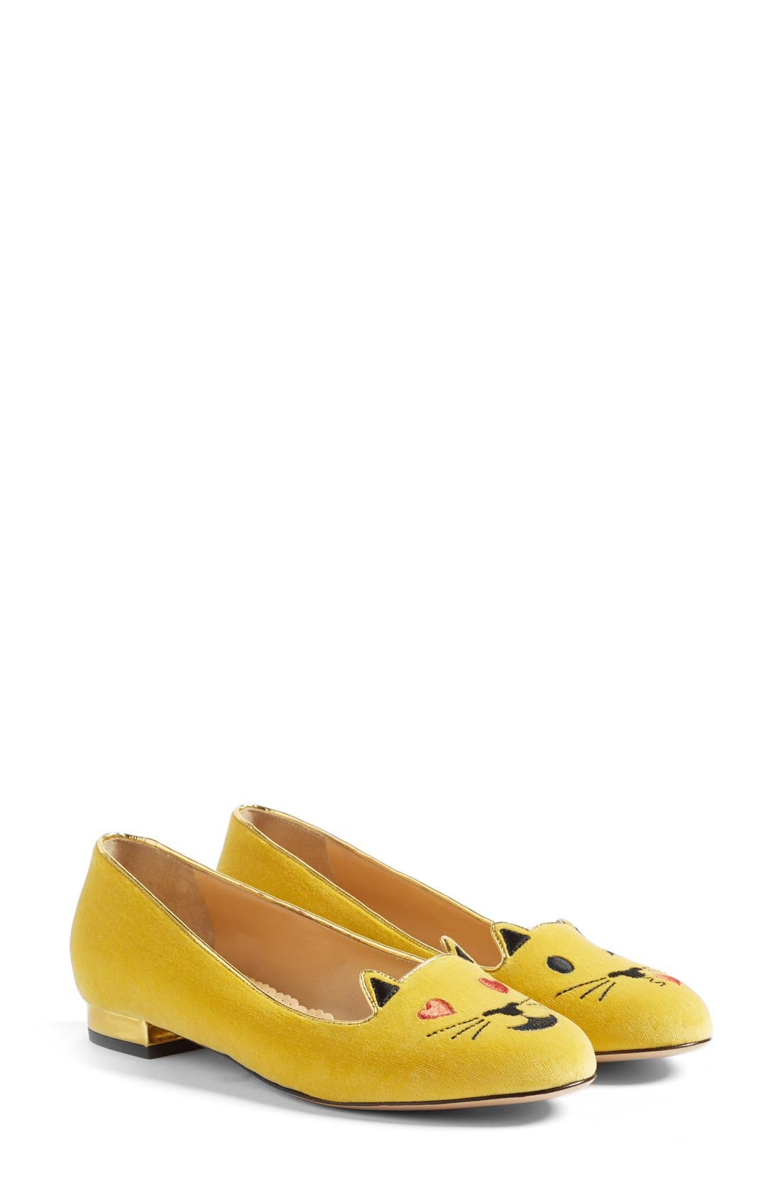 Alternate Image 2  - Charlotte Olympia LOL Kitty Flat (Women)
