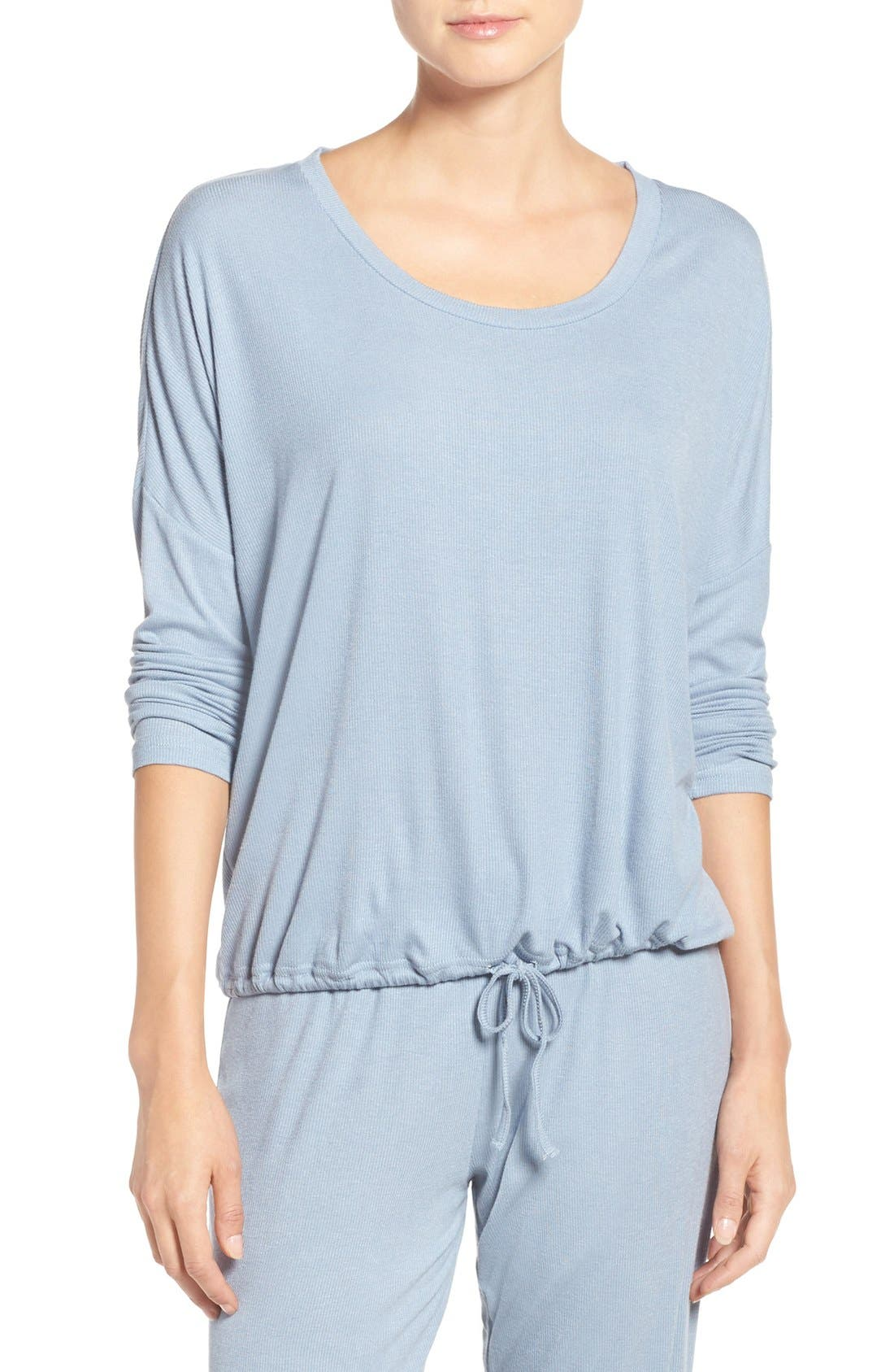 Barefoot Dreams® Slouchy Knit Sleep Pullover