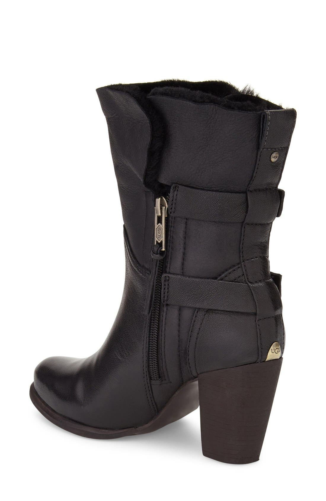 Alternate Image 2  - UGG® Jayne Cuffable Bootie (Women)