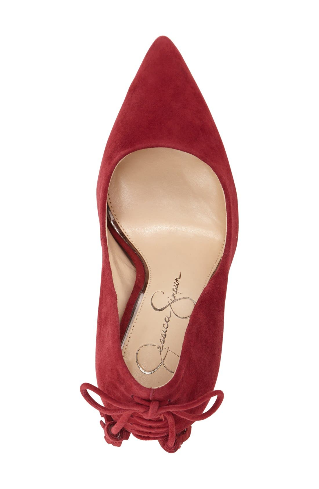 Alternate Image 3  - Jessica Simpson Centella Pointy Toe Pump (Women)