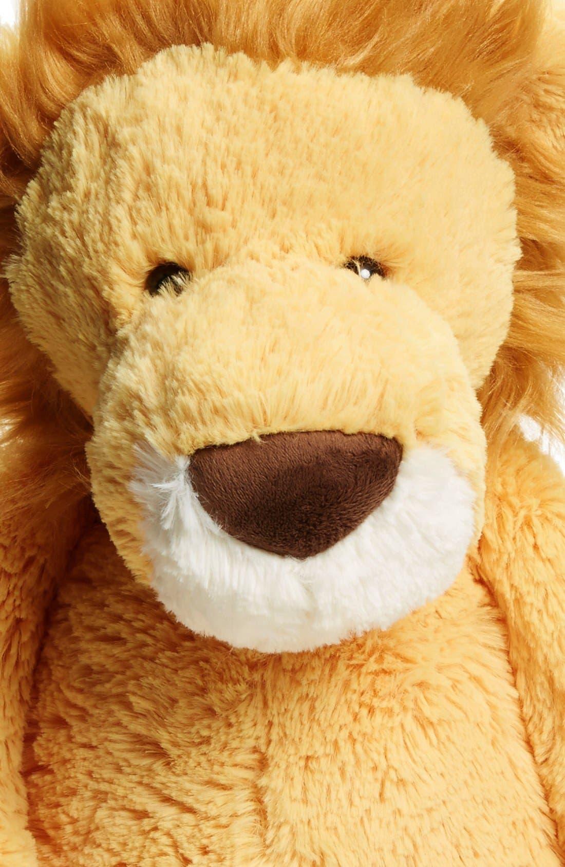 Huge Bashful Lion Stuffed Animal,                             Alternate thumbnail 3, color,                             Yellow