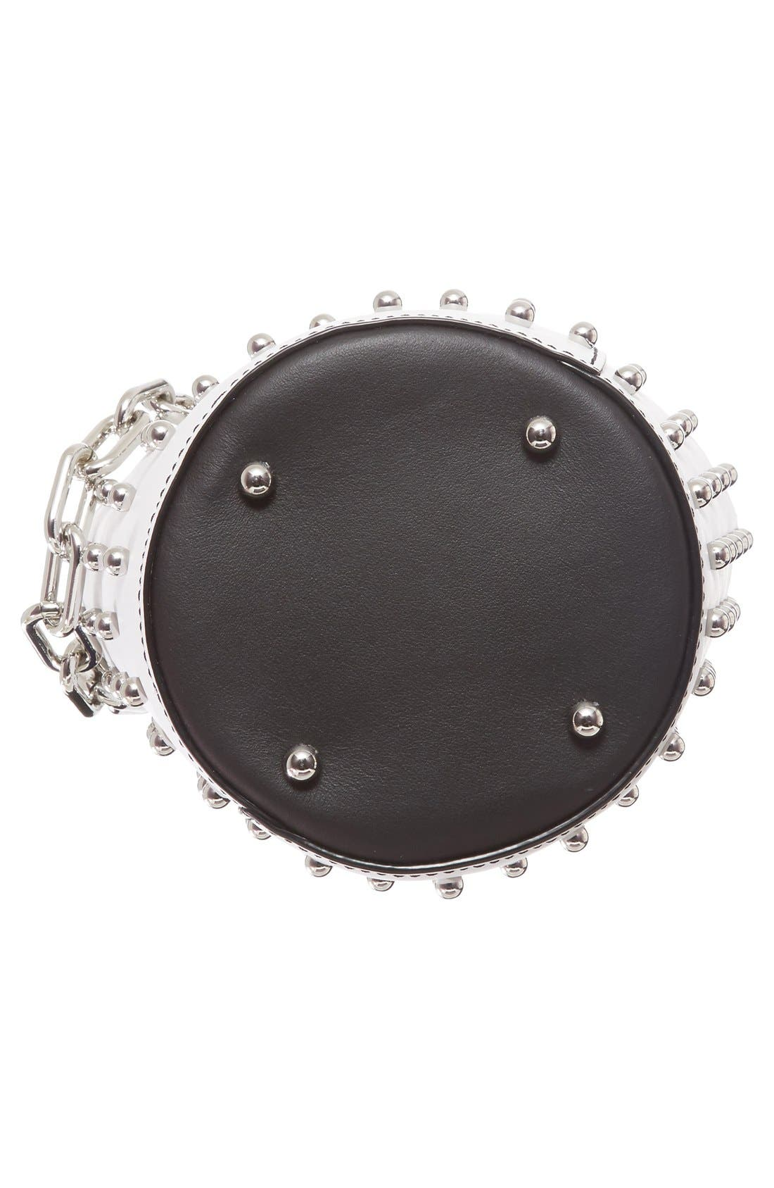 Alternate Image 5  - Alexander Wang Mini Palladium Leather Bucket Bag
