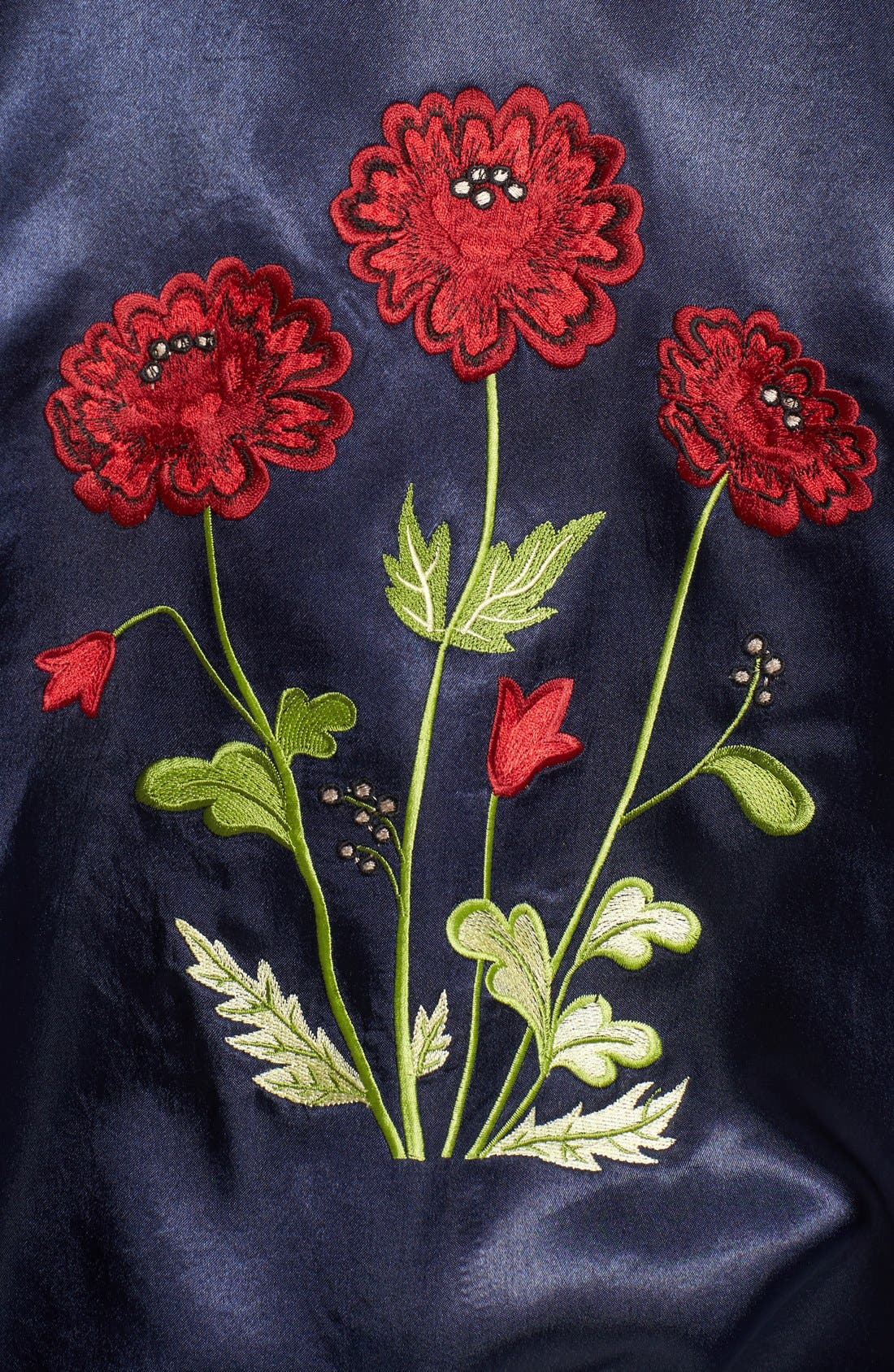 Alternate Image 5  - Tularosa Mara Embroidered Satin Bomber Jacket