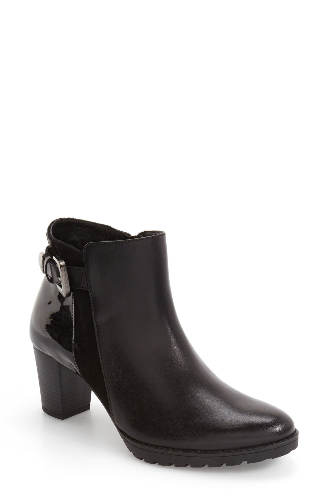 Alternate Image 1 Selected - Mephisto Jamie Buckle Strap Bootie (Women)