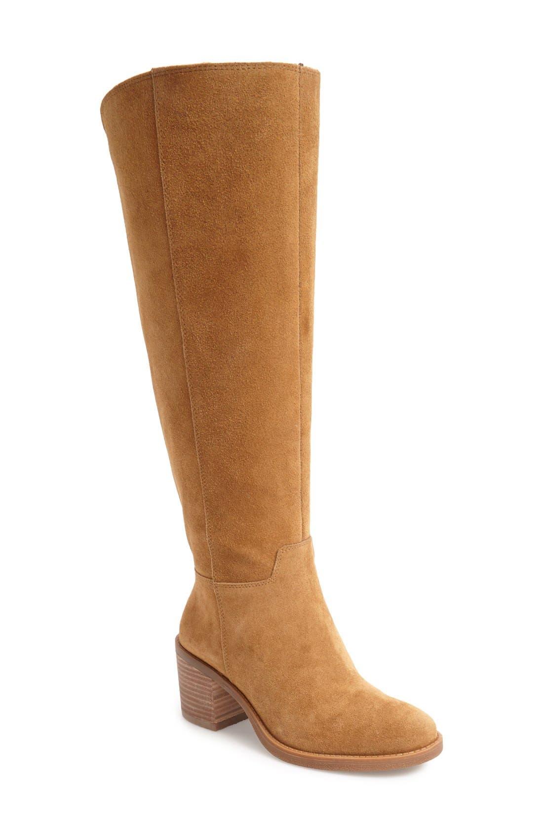 Main Image - Lucky Brand Ritten Tall Boot (Women) (Wide Calf)
