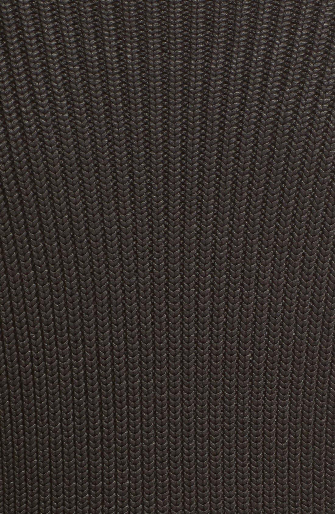 Alternate Image 5  - Alice + Olivia Sierra Crop Rib Knit Turtleneck