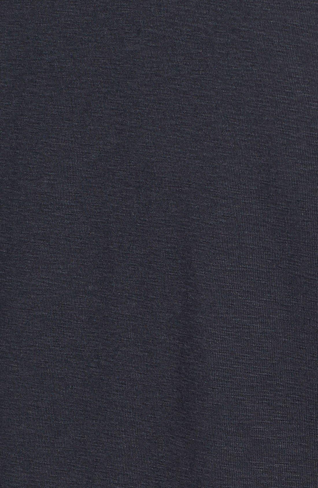 Douglas Cotton Blend T-Shirt,                             Alternate thumbnail 5, color,                             Black