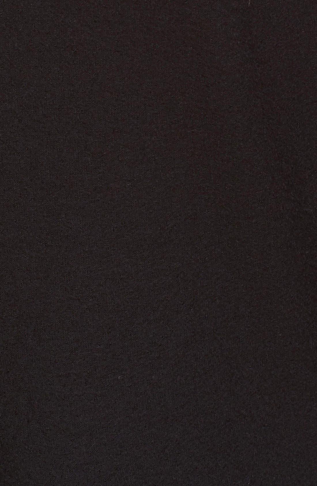 Club Wool Blazer,                             Alternate thumbnail 5, color,                             Black