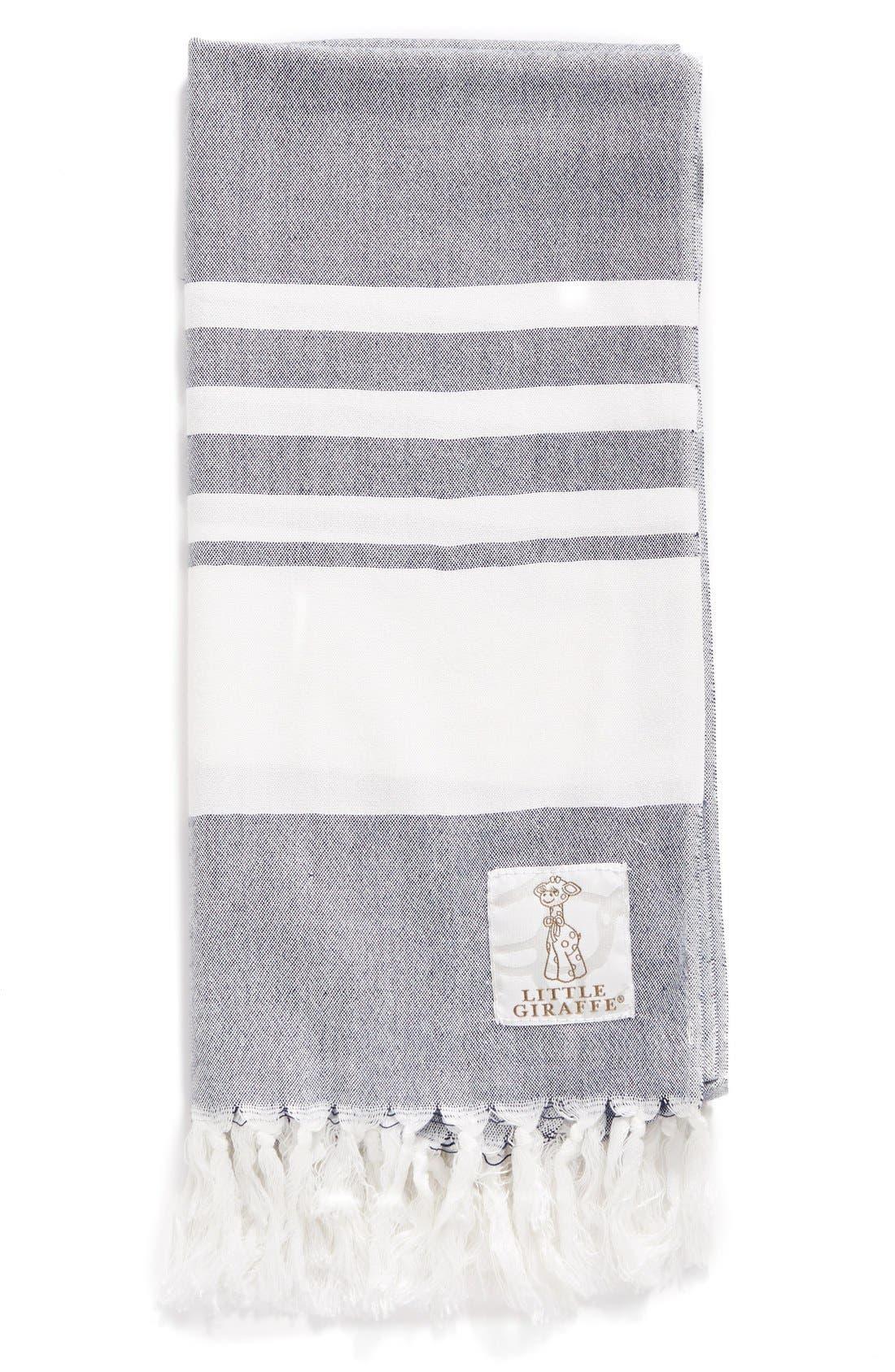 Little Giraffe Indigo™ Turkish Towel (Baby)