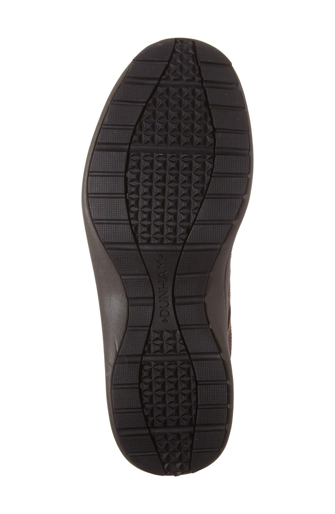Seth-Dun Waterproof Sneaker,                             Alternate thumbnail 4, color,                             Brown Leather