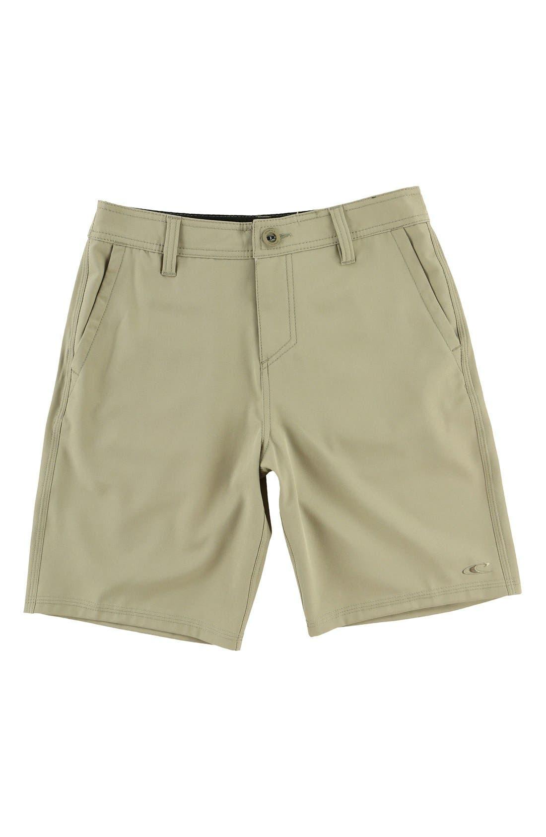 Loaded Hybrid Board Shorts,                         Main,                         color, Khaki