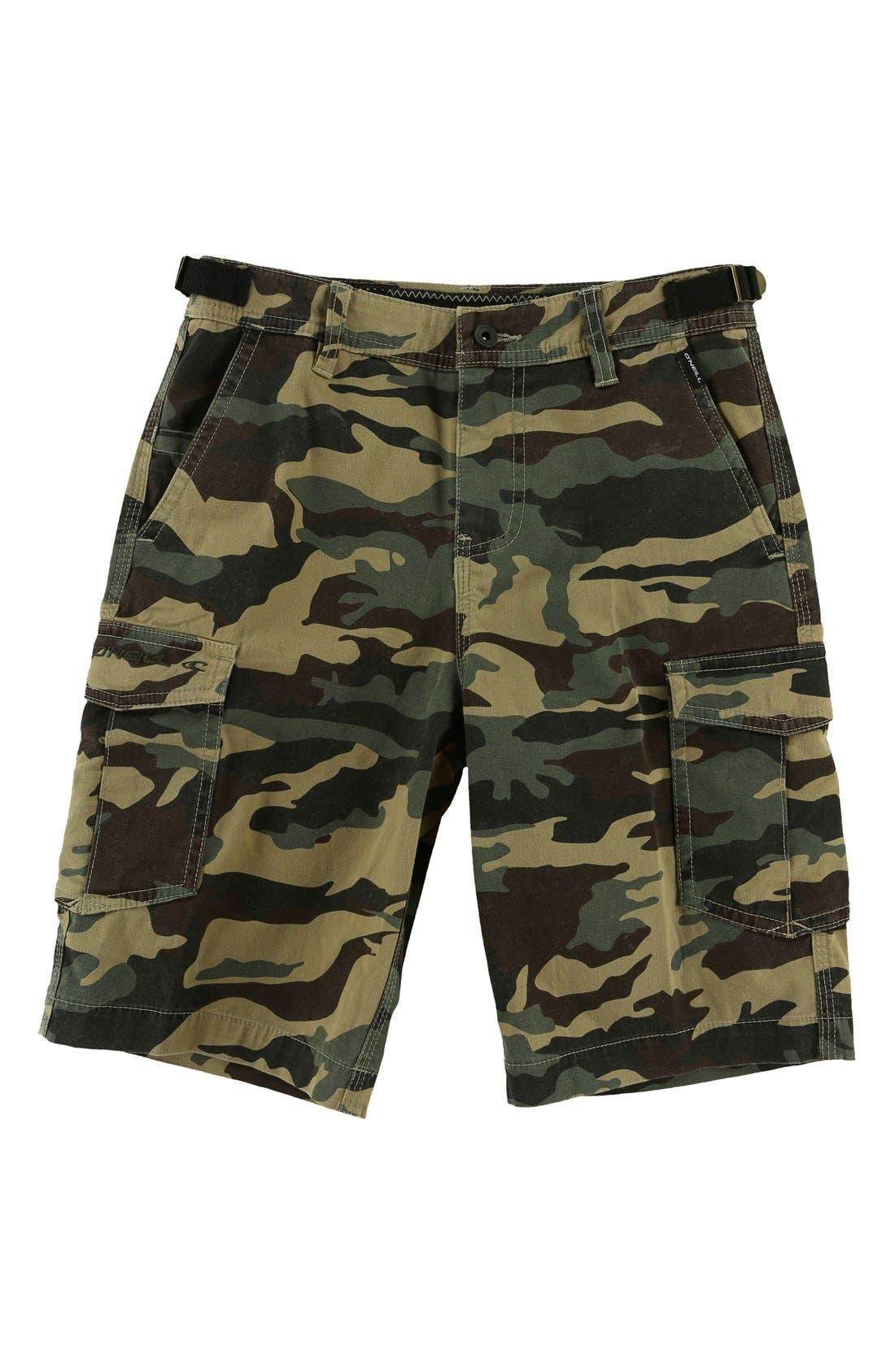 Alternate Image 1 Selected - O'Neill El Toro Cargo Shorts (Big Boys)
