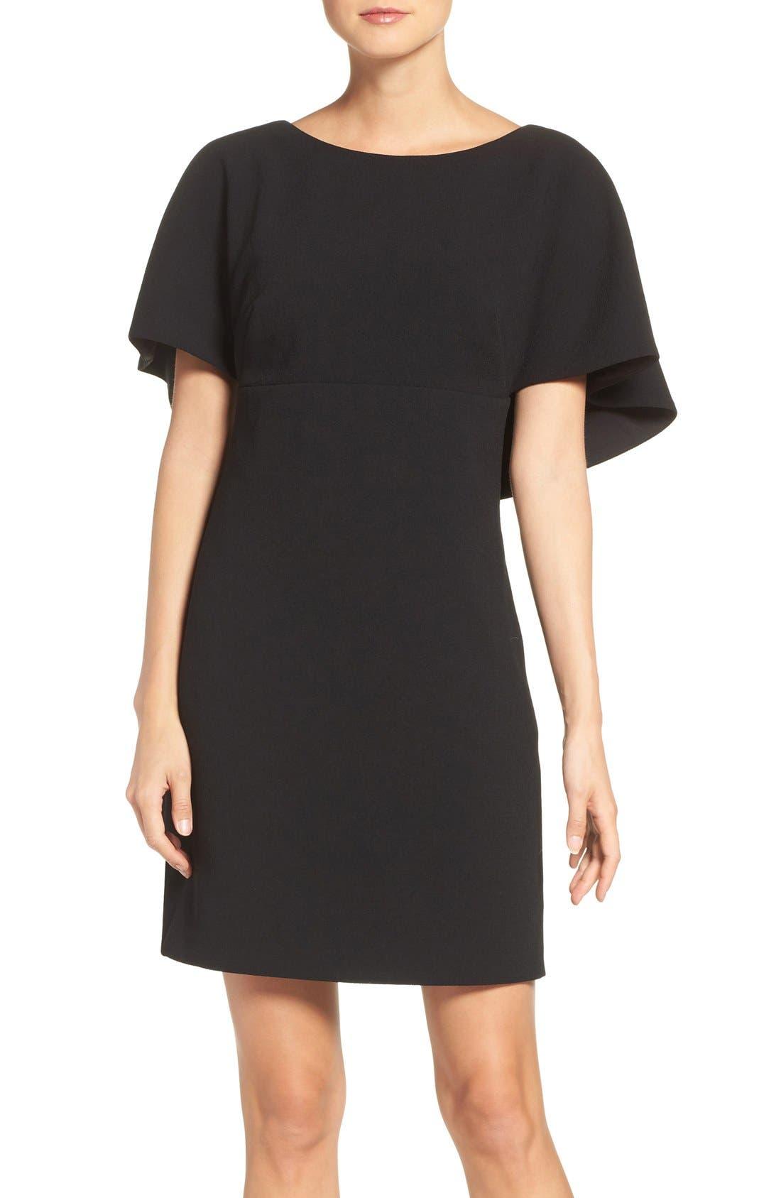 Alternate Image 1 Selected - Eliza J Cape A-Line Dress