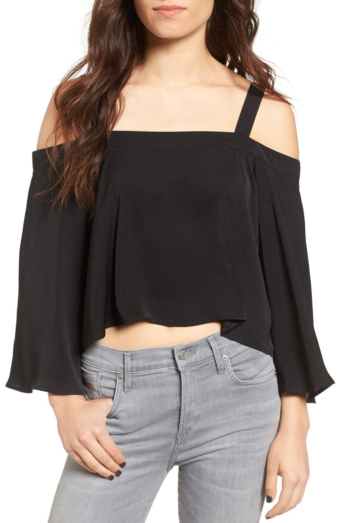 Main Image - The Fifth Label In Full Light Cold Shoulder Top